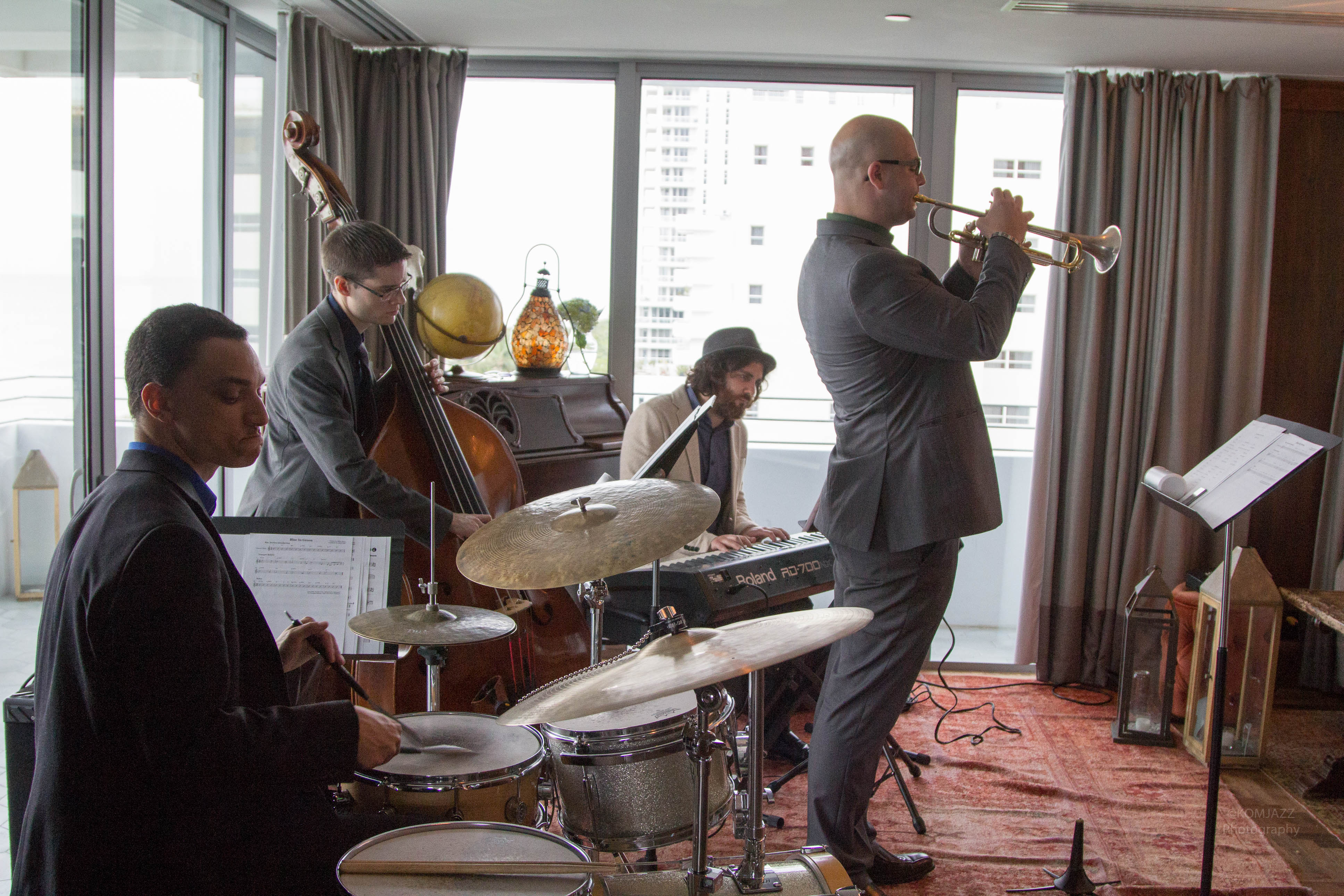 The JH Quintet @ Soho Beach House