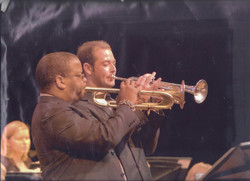 Jared and Terence Whitworth Jazz Band 2007