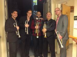 Arturo and the SFJO Trumpets