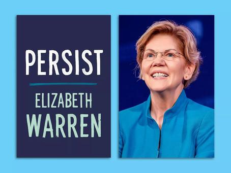 """Blue Idea Book Club to discuss Elizabeth Warren's """"Persist"""""""