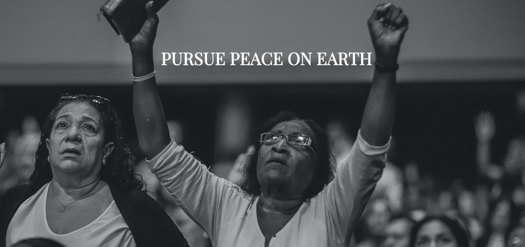PURPUE PEACE ON EARTH