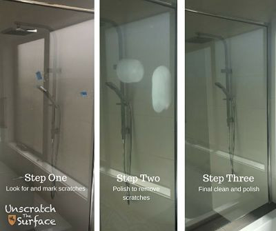 Scratches in Shower Screens