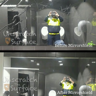Mirror Scratch Removal - MirrorShield