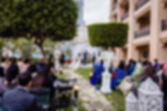 Barefoot Celebrant Dubai wedding