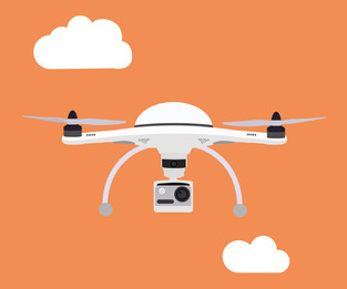 Os drones e o COVID-19