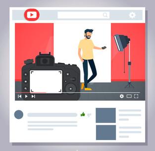 Youtubers e a produção de conteúdo