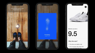 """Nike sai na frente com Realidade Aumentada (RA) para que consumidor encontre o tamanho """"perfeit"""