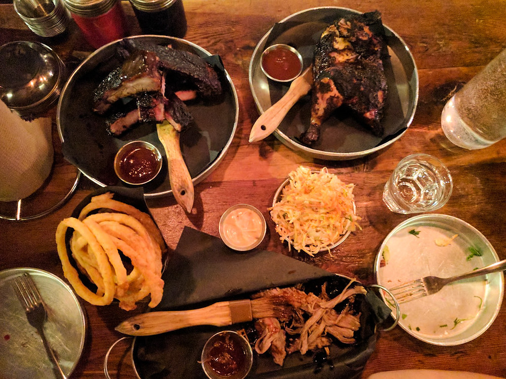 Smoque N' Bones Sampler for Two - Southern Delights