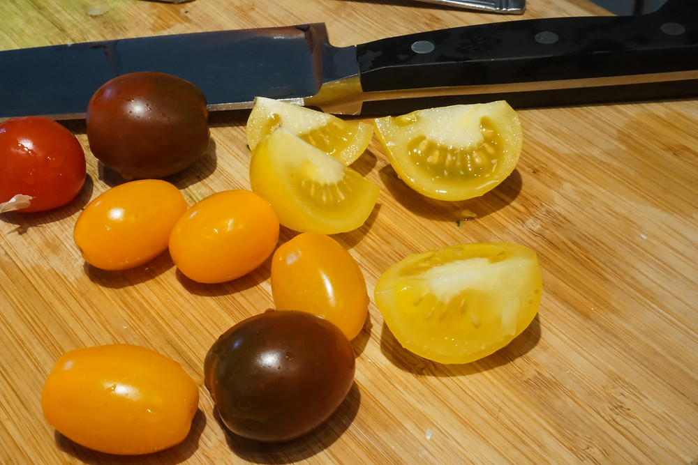 Colourful Mixed Tomatoes