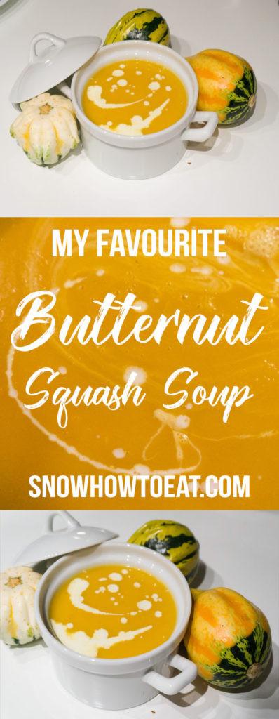 My Favourite Butternut Squash Soup