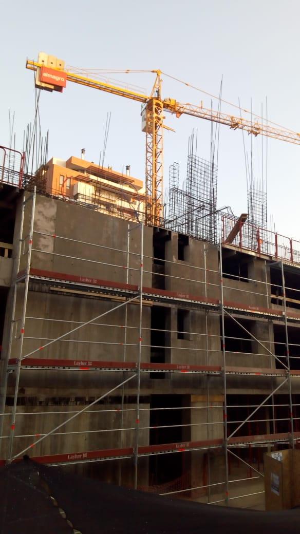 Montaje de fachada