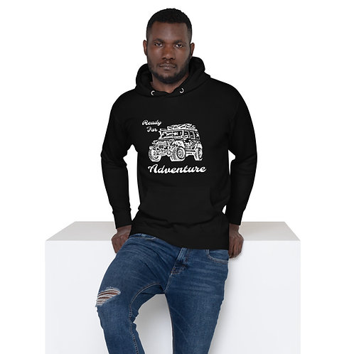 Ready For Adventure Unisex Hoodie