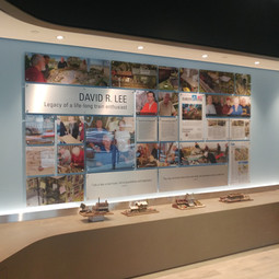These instore displays were printed in house on our large format digital press, cut packed and kitted in house and installed with our own install teams!