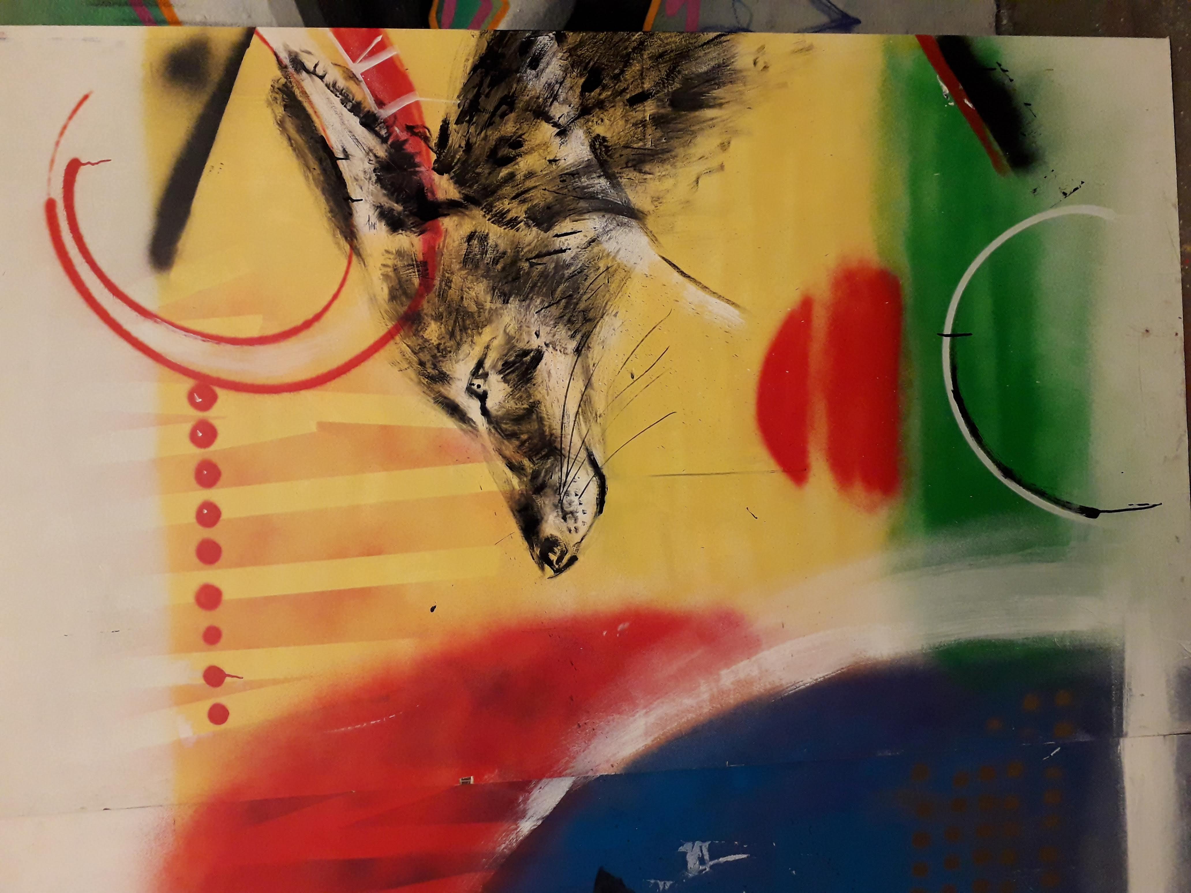 South Africa themed bar mural