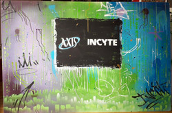 AXIS event mural