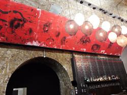 Rat bar mural