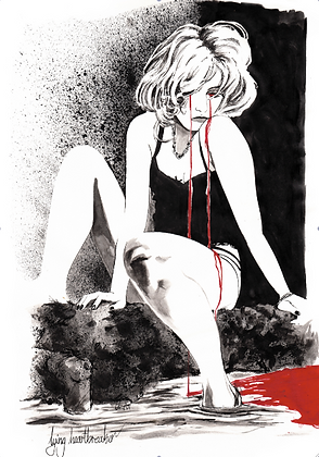 PRINT: blood tears