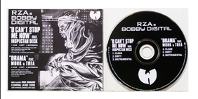 RZA 'U Can't Stop Me Now' single cover