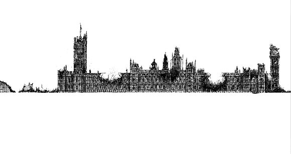 PRINT: Houses Of Parliament