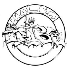 Skalentribe Logo White