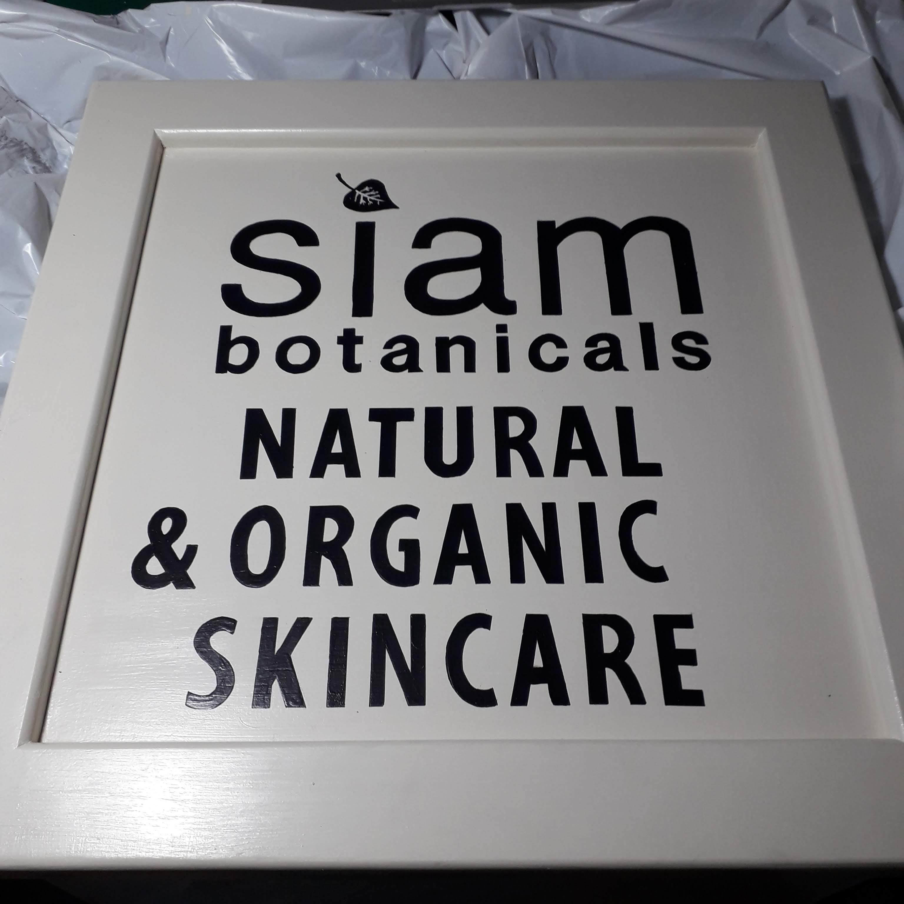 Siam shop sign