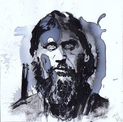 Rasputin original artwork 14x14cm