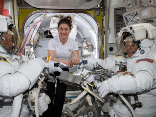 NASA's first all-female spacewalk is delayed because there aren't enough spacesuits that fit
