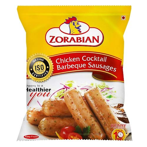 Chicken Cocktail Barbeque Sausages
