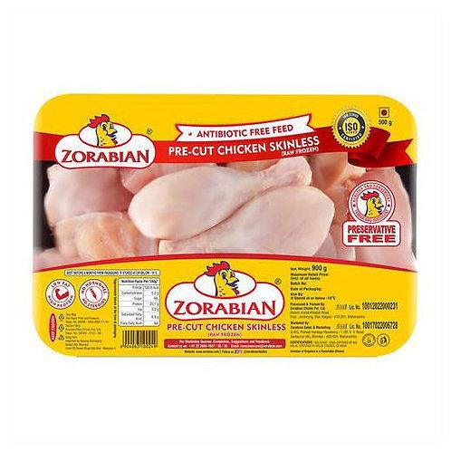 Pre Cut Chicken Skinless