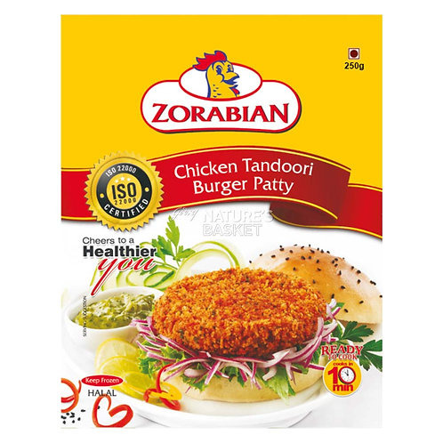 Chicken Tandoori Burger Patty