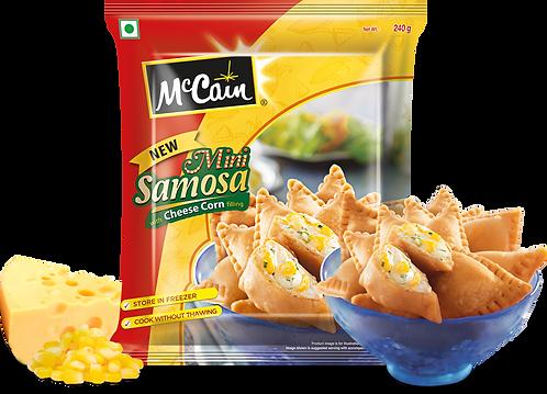 Mini Cheese Corn Samosa