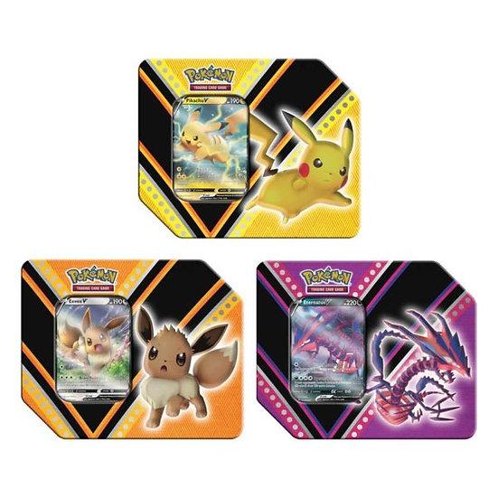 Pokemon - TCG - V Powers Tins