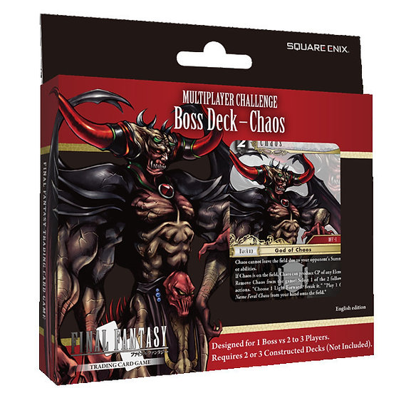Final Fantasy TCG Multiplayer Challenge Boss Deck Chaos