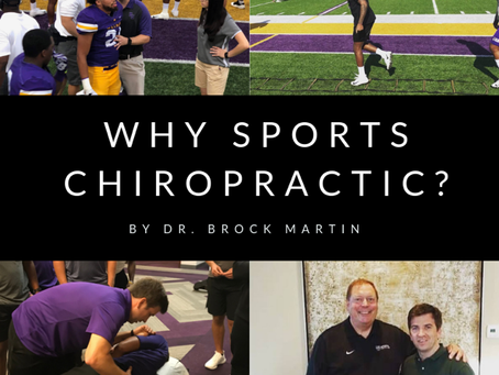 Why Sports Chiropractic?