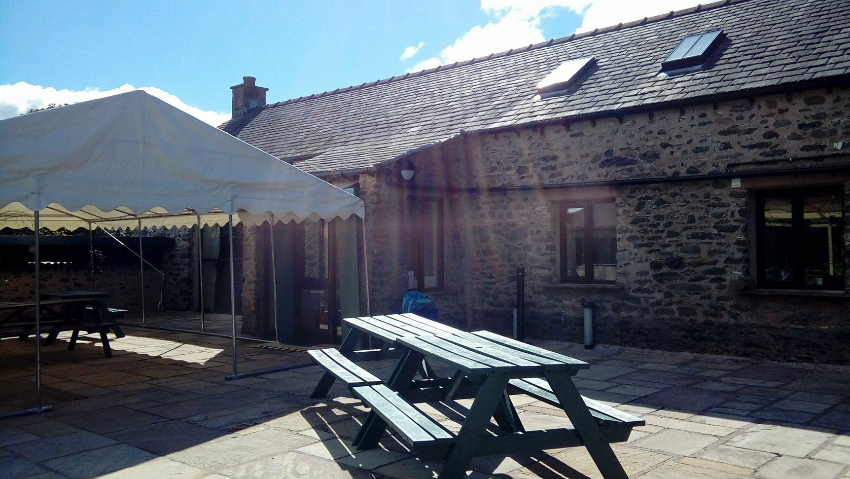 Howgills Barn Marquee for Hire