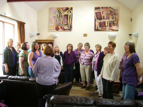 Singing at the Barn