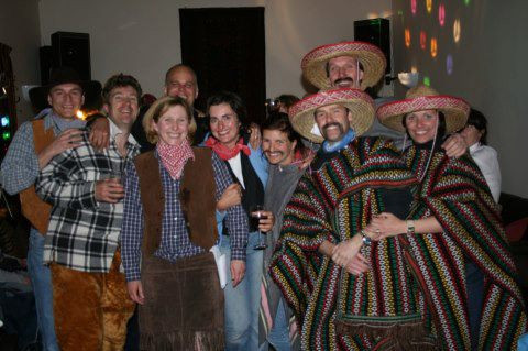 Mexican theme party at howgills Barn
