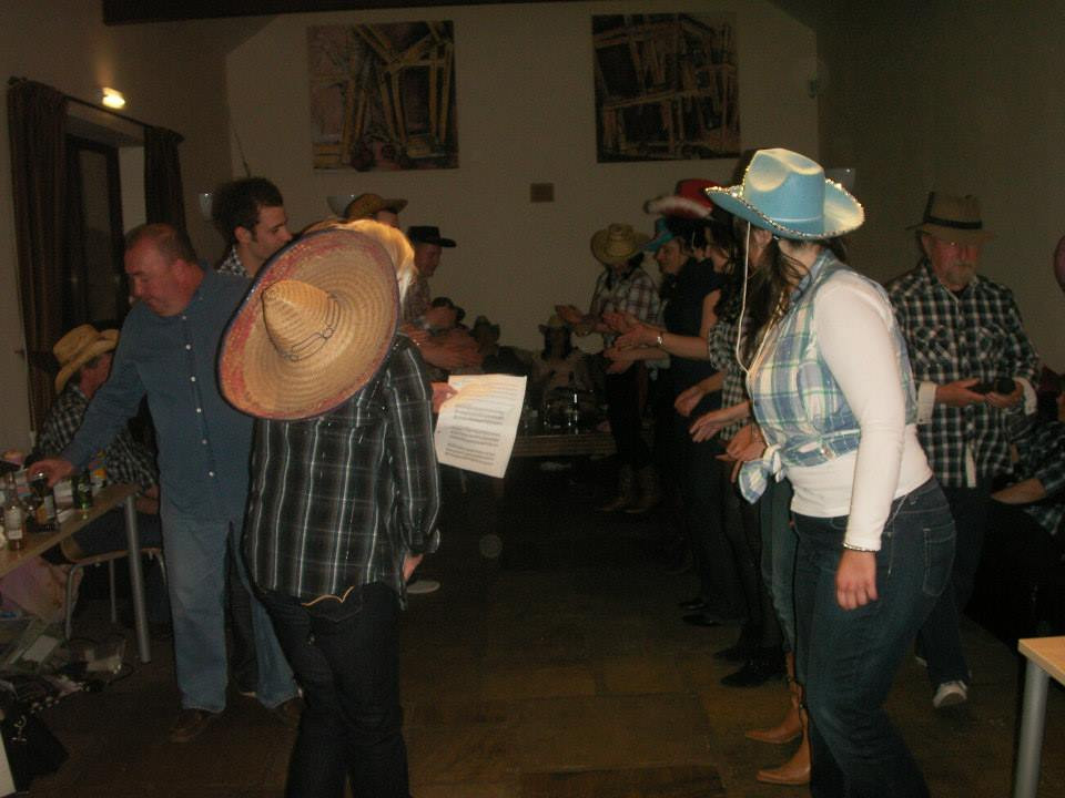 Dancing and fun at Howgills Barn