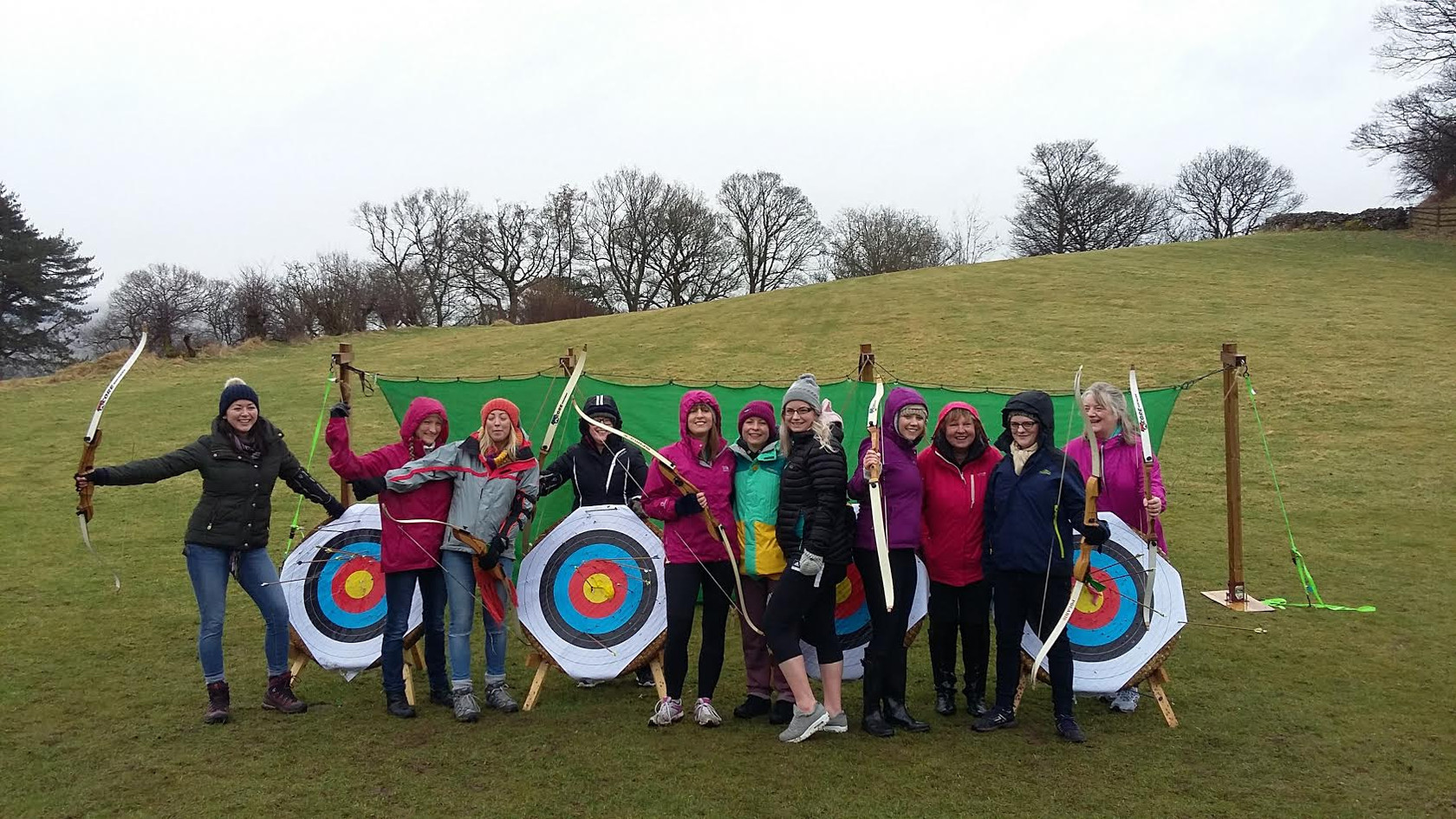 Howgills Barn Archery Activity Hen Group