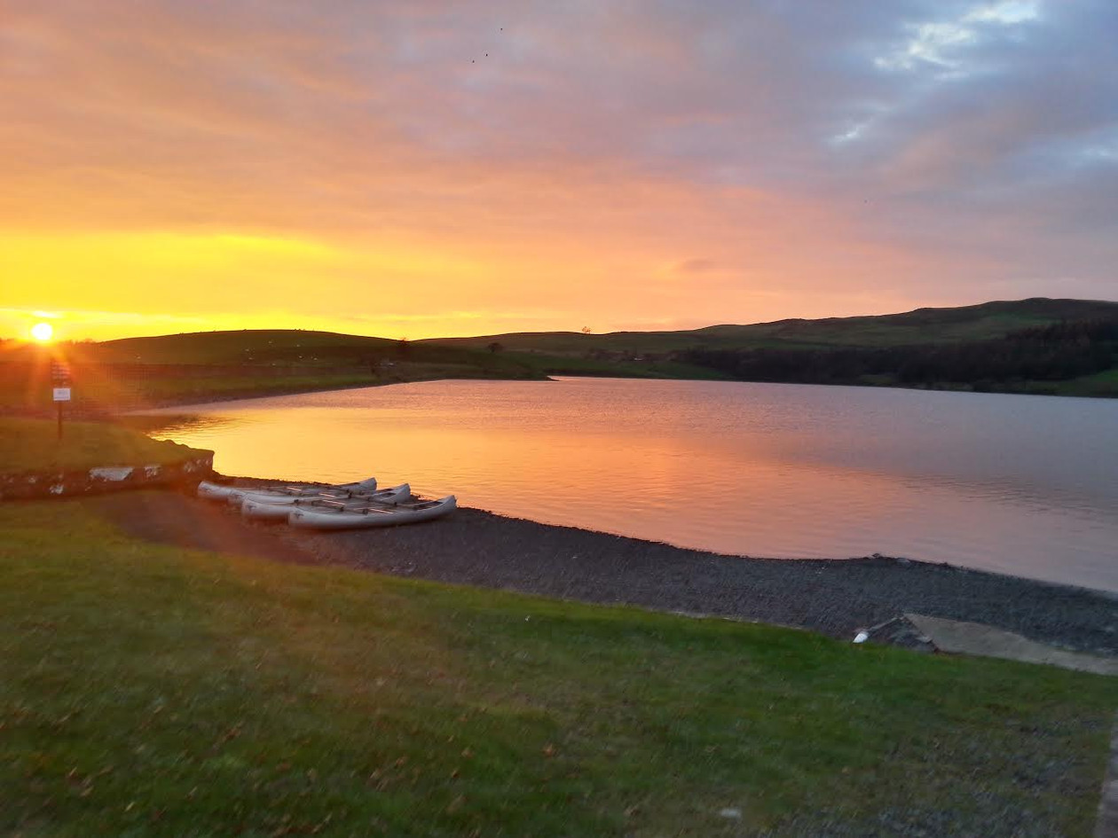 Killington Lake sunset