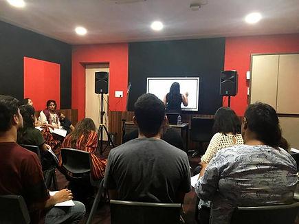 Vasundhara Vee's The School of Voice