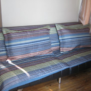 A futon is available if renting the River Room!