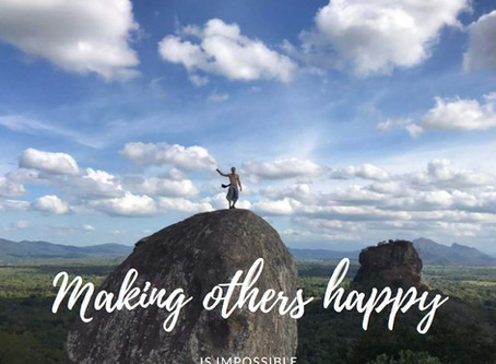 Anderen gelukkig maken is onmogelijk.