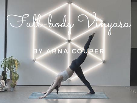 Arna's first online yoga class!