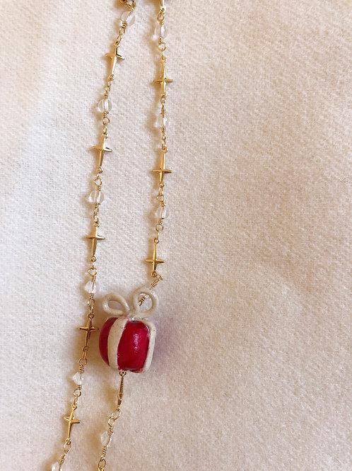 Collier Cadeau Rouge
