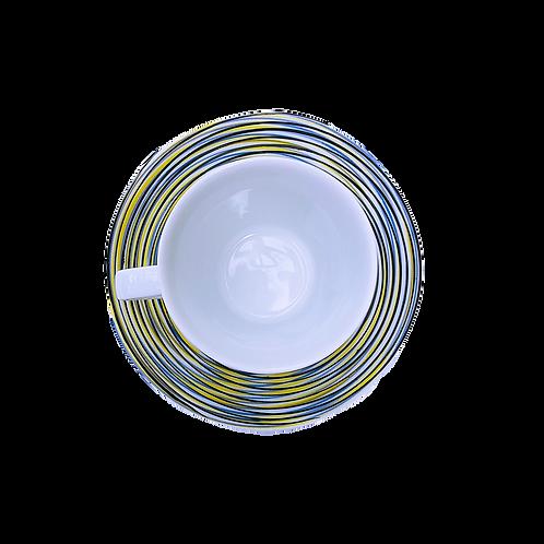 Tasse avec sous tasse Tourbillon