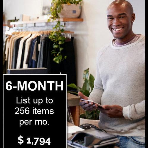 6-Month / List 256 Items