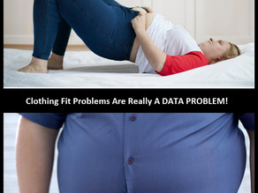 Clothing Fit Problems Are Really Just A DATA PROBLEM!