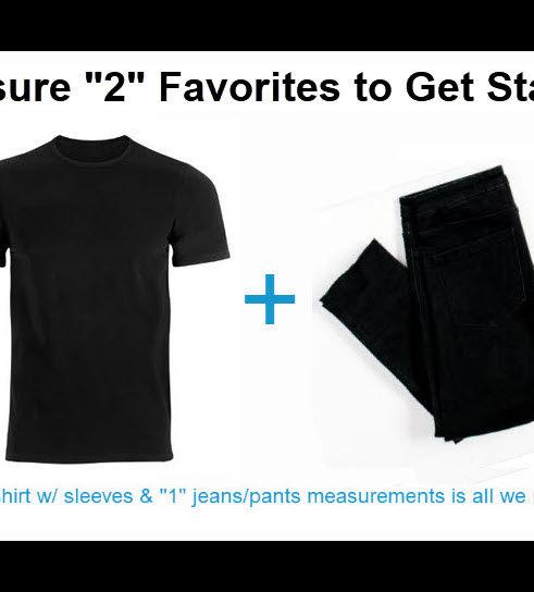 shirt + pants 1+1 to get started BLK BRD