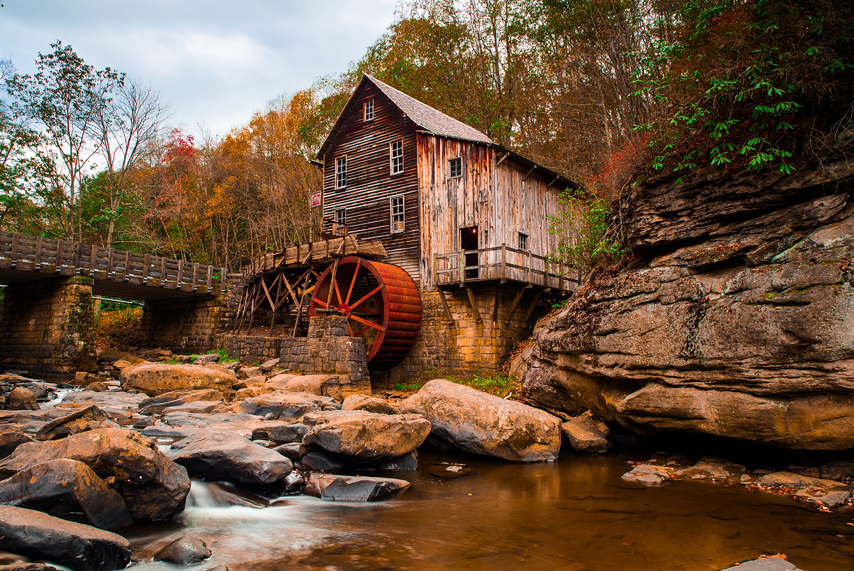 Glade Creek Grist Mill  Bobcoak S.jpg